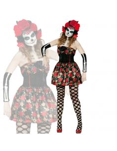 Disfraz de Catrina Mexicana para Mujer Tienda de disfraces online - venta disfraces