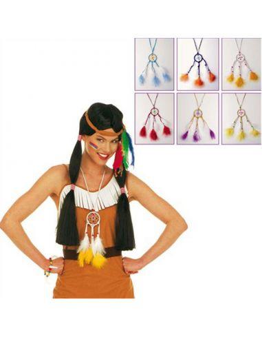 Collar Indio Atrapasueños Tienda de disfraces online - venta disfraces