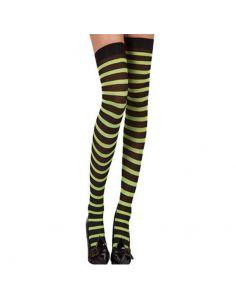 Medias Liga negro/verde Tienda de disfraces online - venta disfraces