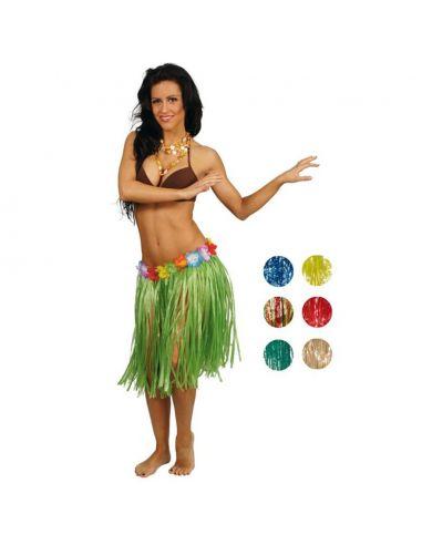 Falda Hawaiana de 50 cm Tienda de disfraces online - venta disfraces