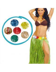 Falda Hawaiana de Rafia 75 cm Tienda de disfraces online - venta disfraces