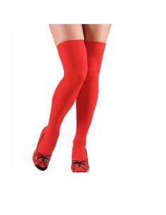 Medias en Rojo Tienda de disfraces online - venta disfraces
