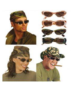 Gafas de Camuflaje  Tienda de disfraces online - venta disfraces