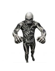 Disfraz Segunda Piel Huesos y Cráneo para Adulto Tienda de disfraces online - venta disfraces