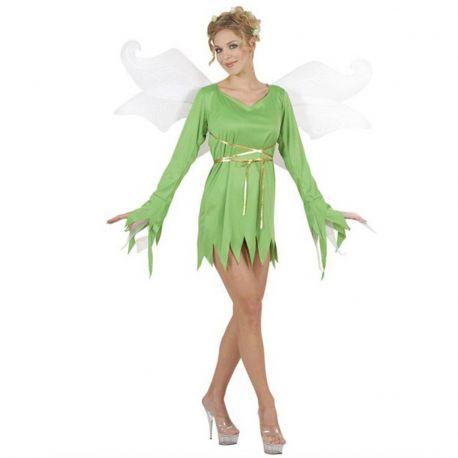 Disfraz Hada del Bosque adulta con alas