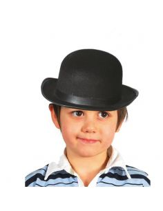 Bombín Fieltro negro infantil Tienda de disfraces online - venta disfraces