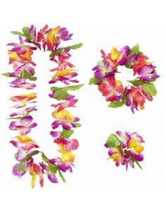 Set Hawaiano de Flores de Lujo Tienda de disfraces online - venta disfraces