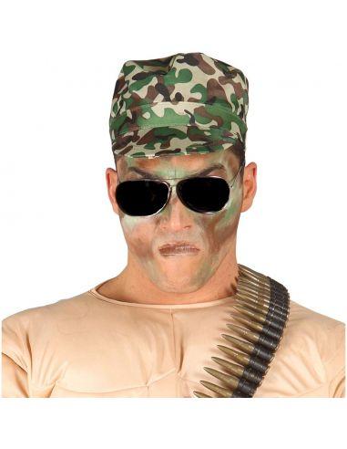 Gorra Militar Camuflaje Tienda de disfraces online - venta disfraces