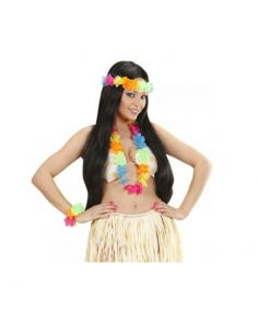 Set Hawaiano Multicolor Brillante