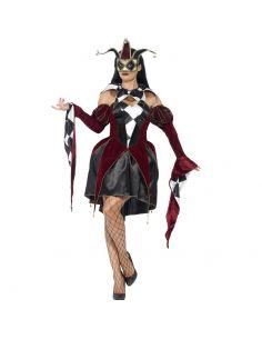 Disfraz Arlequin Veneciano para Mujer Tienda de disfraces online - venta disfraces