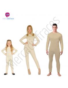 Disfraces para grupos Mallots color Carne Tienda de disfraces online - venta disfraces