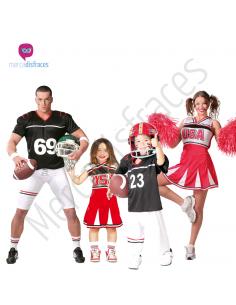 Disfraces para grupos Quarterback y animadoras Tienda de disfraces online - venta disfraces