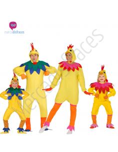 Disfraces para grupos Pollos amarillos Tienda de disfraces online - venta disfraces