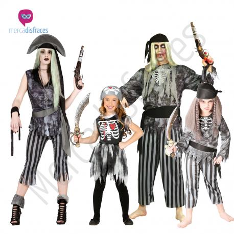 Disfraces para grupos Piratas Fantasmas Tienda de disfraces online - venta disfraces