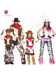 Disfraces grupos de Vaqueros Tienda de disfraces online - venta disfraces