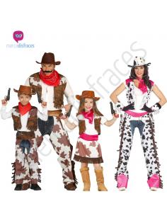 Disfraces grupos de Vaqueros