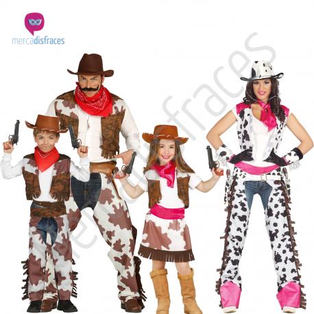 Disfraces grupos de Vaqueros Tienda de disfraces online - venta disfraces