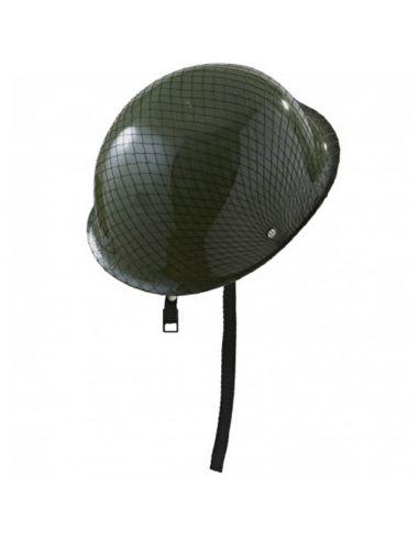 Casco Militar con Malla Tienda de disfraces online - venta disfraces