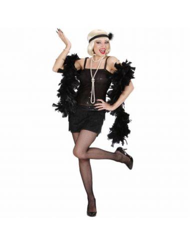 Disfraz de Charlestón Negro para mujer Tienda de disfraces online - venta disfraces