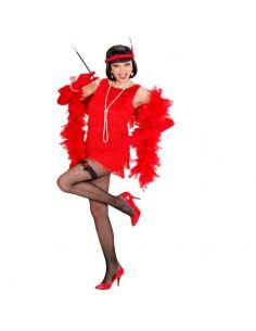Disfraz de Charlestón Rojo de Lujo Tienda de disfraces online - venta disfraces