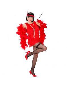 Disfraz de Charlestón Rojo de Lujo Talla XL Tienda de disfraces online - venta disfraces