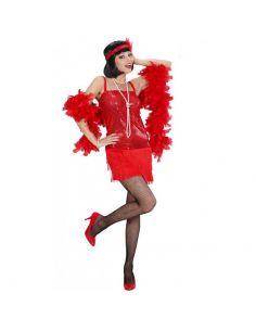 Disfraz de Charlestón Rojo para mujer Tienda de disfraces online - venta disfraces