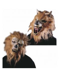 Mascara Hombre Lobo media cara Surtidas Tienda de disfraces online - venta disfraces