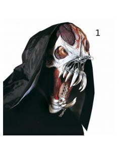 Máscara monstruo Alien del espacio con capucha