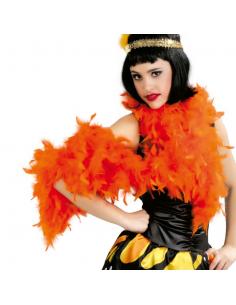 Boa Plumas Naranja Tienda de disfraces online - venta disfraces