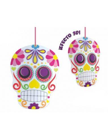 Deco 3D Calavera dia de los muertos Tienda de disfraces online - venta disfraces