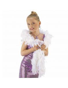 Boa de Plumas Blanca Tienda de disfraces online - venta disfraces