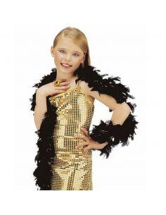 Boa de Plumas Negra Tienda de disfraces online - venta disfraces