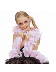 Boa de Plumas Rosa Tienda de disfraces online - venta disfraces