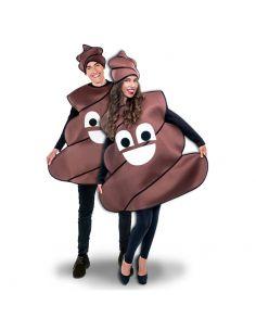 Disfraz Emoticono de caca Tienda de disfraces online - venta disfraces