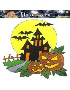 Pegatina Halloween para Ventana Tienda de disfraces online - venta disfraces