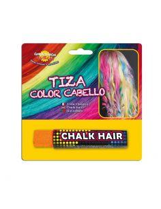 Barra de Tiza para colorear el cabello en naranja Tienda de disfraces online - venta disfraces