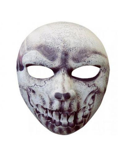 Máscara calavera en tejido