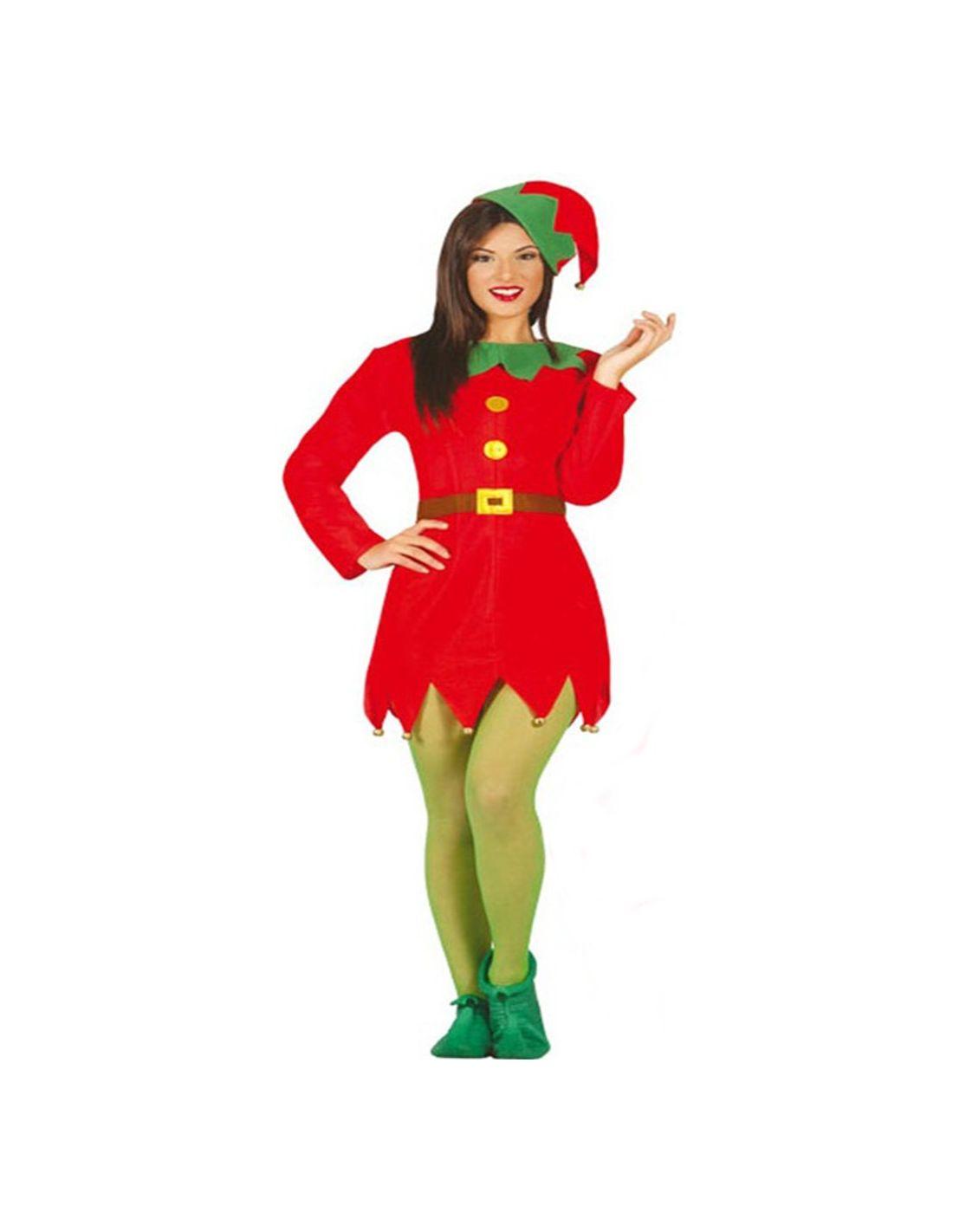 Disfraz elfo mujer tienda de disfraces online - Disfraces de duendes de navidad ...