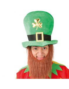 Sombrero de San Patricio con Barba Tienda de disfraces online - venta disfraces