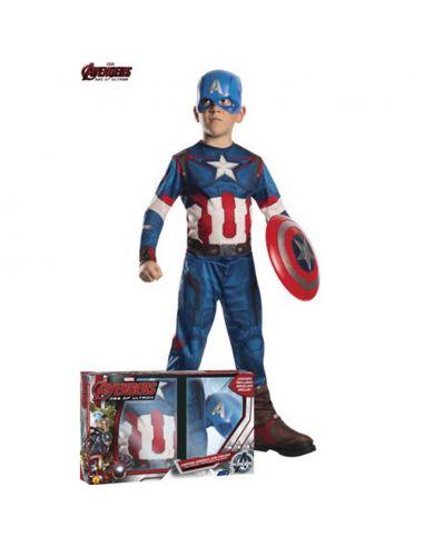 Disfraz Capitán América con Escudo Tienda de disfraces online - venta disfraces