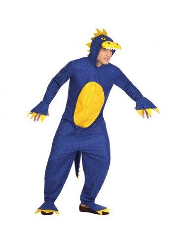 Disfraz Dinosaurio azul para adulto Tienda de disfraces online - venta disfraces