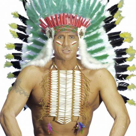 Collar de Gran Jefe Indio - Tienda de Disfraces Online - Mercadisf...