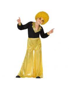 Disfraz Disco Dorado Infantil Tienda de disfraces online - venta disfraces