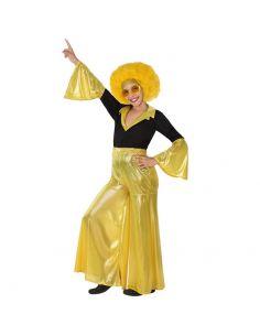 Disfraz Disco Dorado Infantil para niña Tienda de disfraces online - venta disfraces