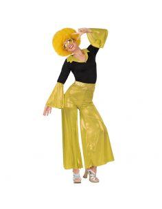 Disfraz Disco Dorado para Señora Tienda de disfraces online - venta disfraces