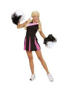 Disfraz Cheer Leader en negro/rosa para mujer Tienda de disfraces online - venta disfraces