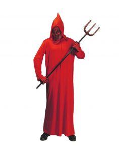 Túnica Diablo con capucha para adulto Tienda de disfraces online - venta disfraces