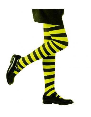 Panty a Rayas verdes y negras infantil Tienda de disfraces online - venta disfraces