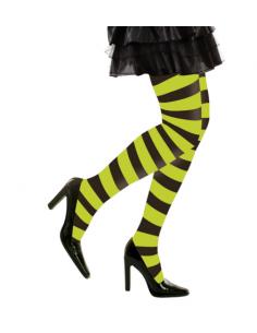 Panty a Rayas verdes y negras Tienda de disfraces online - venta disfraces