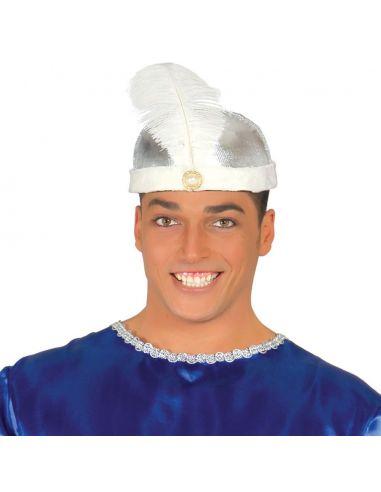 Turbante Marajá Plata Tienda de disfraces online - venta disfraces